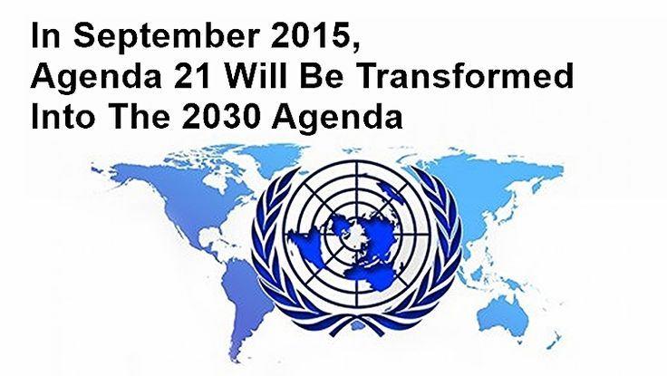 Agenda 21 - The 2030 Agenda